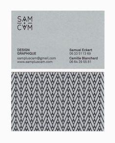SAM+CAM Identity and Stationery