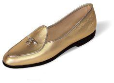 Midinette Animal Print Shoe  -  Belgian Loafer