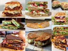 Even MORE delicious grilled cheese ideas! Spinach and artichoke, sloppy joe, grilled cheese croutons for soup, and more.