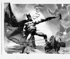 Chris Conidis original Batman Gargoyle