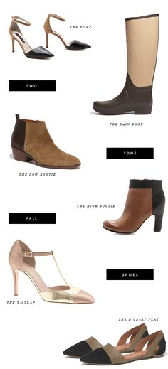 6 two tone shoes for fall