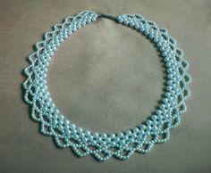 Pattern bijoux: Maxi Colar entrelaçado