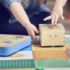 A hands-on coding toy for boys and girls Cubettos Kickstarter campaign tripled its initial goal. Kids can use it whether they can read or not because the programming language is tangible and made up of colorful coding blocks. Nothing wrong with a good set of Leggos but if youre looking to tech up playtime Cubetto may just be your answer.(: @PrimoToys)  #cubetto #kickstarter #kickstartercampaign #coding #robot #robots #programming #robotic #tech #techie #techy #techtoys #techlife #hightech…