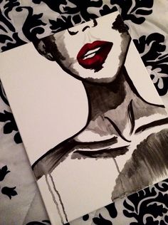 Water color and acrylic painting #renisoaresart