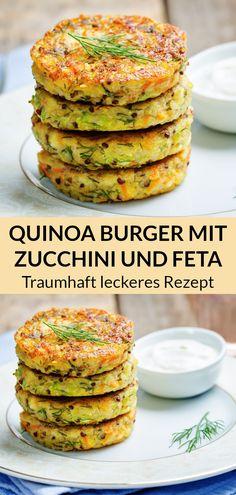 Pumpkin Zucchini Recipes, Quinoa Recipes Easy, Healthy Muffin Recipes, Healthy Pumpkin, Banana Recipes, Veggie Recipes, Vegetarian Recipes, Quinoa Burgers, Patties Recipe