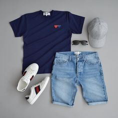 summer mens fashion which look cool 450723 Summer Outfits Men, Stylish Mens Outfits, Stylish Clothes, Casual Outfits, Zalando Style, Look Man, Mein Style, Men With Street Style, Outfit Grid