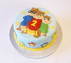Alvin and the Chipmunks cake - Cake by Ayeta