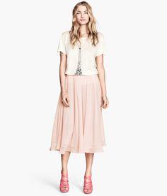 Vadlång kjol | Product Detail | H&M