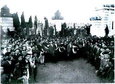 Funerali dei minatori uccisi ad Iglesias
