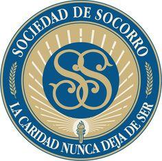 Relief Society seal in Spanish    Sociedad de Socorro, logotipo