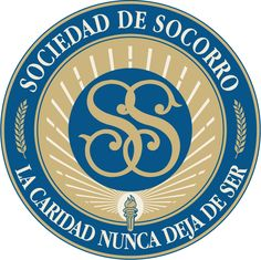 Relief Society seal in Spanish    Sociedad de Socorro, logotipo
