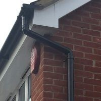 Summit Cladding recently replaced the timber soffits and fascias at a property in St. Albans, Hertfordshire, and also installed new deep flow gutters. House Gutters, Affordable Roofing, Cork City, St Albans, Glass House, Cladding, Flow, Choices, Pergola