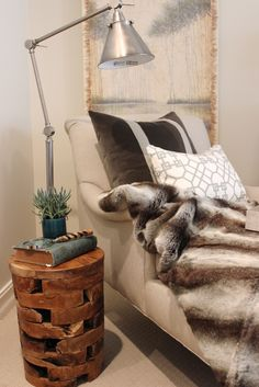 how much do you love this wooden accent table found at HomeGoods!!