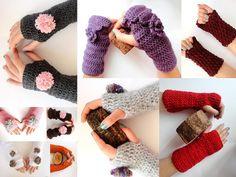 SALE Crochet Fingerless gloves2013 trendshand crocheted by seno, $25.00