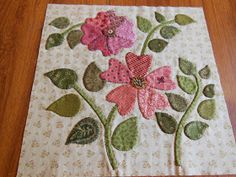 My friend Lynne and I decided to make this quilt together. The plan was to make one block a month but she has been so inspired with the blo...