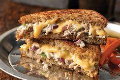 Crunchy Garden Tuna Melts - Kraft Recipes