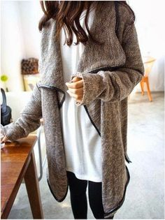 I Love this open sweater! Stitch fix fall winter 2016. Fashion trends