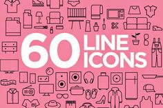 Free PSD Goodies and Mockups for Designers: 60 FREE FRESH ICONS IN VECTOR