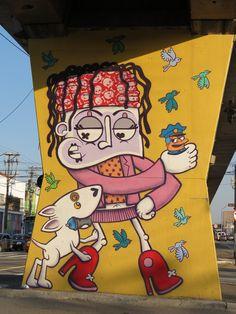 Beyond Banksy Project / Chivitz - São Paulo, Brazil