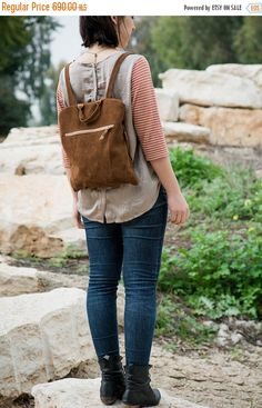 Brown suede backpack, Brown bag, Suede backpack, Women bag,Brown leather backpack by BagsByPancha on Etsy https://www.etsy.com/listing/181730841/brown-suede-backpack-brown-bag-suede
