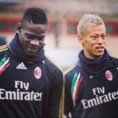 Honda to AC Milan Mario Balotelli