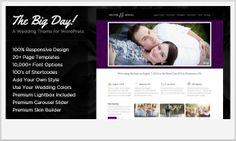 The Big Day -Notch WordPress Theme for Wedding Websites