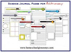 FREE Printable Science Journal Pages
