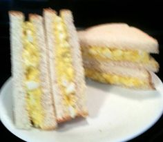 Tinklee's Old fashioned Egg Salad Sandwiches