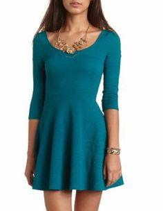 knit skater dress its very basic but its very chic and classy at the same time. You could do so much with this dress(: