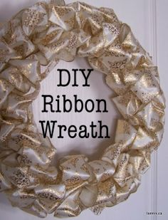 Chez Lannis: DIY ribbon wreathChez Lannis: DIY ribbon wreathtapeThe best ribbon for wreaths - do you ever wonder where we can find all the fantastic ribbon that is used in our ribbon wreaths? Christmas Mesh Wreaths, Deco Mesh Wreaths, Ribbon Wreaths, Christmas Ideas, Yarn Wreaths, Winter Wreaths, Floral Wreaths, Spring Wreaths, Summer Wreath