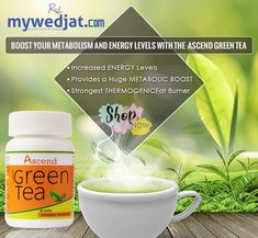 Shop Ascend Green Tea - Antioxidants/Weight Loss from Cureka, the most popular online destinations for buying home health care products, medical equipments, pain management and supplements and many more herbal and ayurvedic products. Home Health Care, Health Tips, Green Tea Extract, Boost Your Metabolism, Energy Level, How To Increase Energy, Herbalism, Healthy Lifestyle, Vitamins