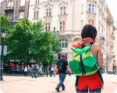 Green Leaf RucksackHipster Backpack Waterproof by LeaflingoOo, $71.00