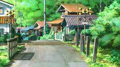 Village Anime Scenery Wallpaper Free Desktop #28384 Wallpaper