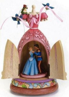 Cinderella dress musical figure (Jim Shore) from Fantasies Come True