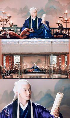 Eternal Love Drama, Peach Blossoms, Most Handsome Men, Dream Art, Drama Movies, Fan Art, Actors, Film, Celebrities