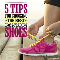 5 Tips for Choosing the Best Cross-Training Shoes Going from cardio to strength training and back again? One shoe for all makes life easier. Here are 5 Tips for Choosing the Best Cross-Training Shoes! Fitness Nutrition, Yoga Fitness, Fitness Tips, Fitness Motivation, Fitness Wear, Fitness Facts, Fitness Fun, Fitness Quotes, Motivation Quotes
