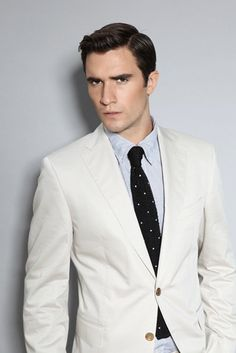 No White Suits: White suits are more after work stylish, than business/professional stylish. Don't wear for interviews.