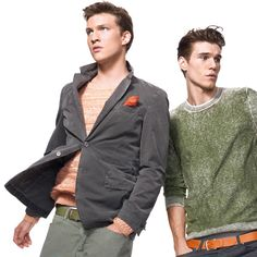 Benetton Man Collection - The first looks of the season
