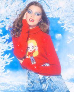 Chiara Ferragni Collection, Christmas Sweaters, Girly, Graphic Sweatshirt, Sweatshirts, Outfits, Beauty, Style, Fashion
