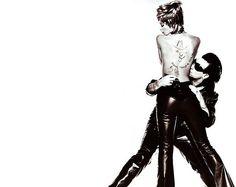 Bono and Helena Christensen
