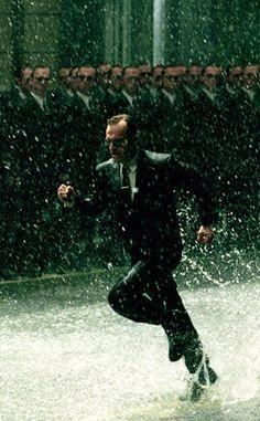Great Matrix images (Agent Smith & his 'Copies')