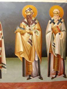 Saint Anthony Church, Byzantine Icons, Nashville Tennessee, Athens Greece, Alexandria, Fresco, Holi, Saints, My Arts