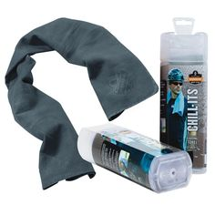 Ergodyne Chill-Its 6602 Evaporative Cooling Towel - Blue - Polyvinyl Alcohol (PVA) Keep Cool, Stay Cool, Gifts For Brother, Gifts For Dad, Brother Brother, Family Gifts, Fitness Gifts For Men, Hate Summer, Summer Time