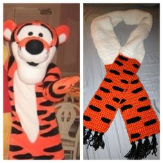 Tigger inspired Scarf by CrafTCreation13 on Etsy