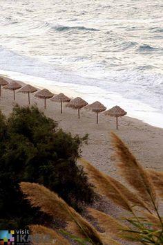 Kampos beach, Ikaria island, Greece