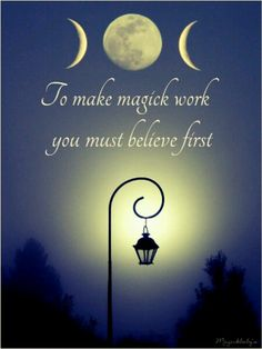 The mind rules. Every year when autumn rolls around, I have this obsession with Wicca, though I do not believe, I wish I did. This saying is so true for me. Just Believe, Believe In Magic, Angel Protector, Witch Quotes, Wicca Witchcraft, Wiccan Witch, Wiccan Magic, Practical Magic, Book Of Shadows