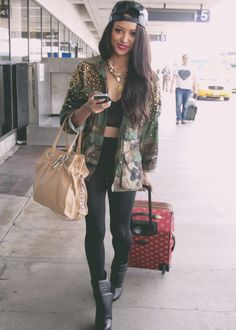 Kat Graham edgy coolness- I love this.