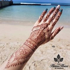 "The Henna House by Angela on Instagram: ""Take me back to Honolulu ....and this amazing henna stain """
