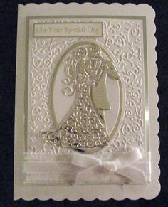 cards using TATTERED LACE COUPLE on pinterest - Google Search