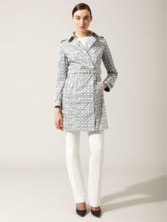 Allegri Woven Printed Trench